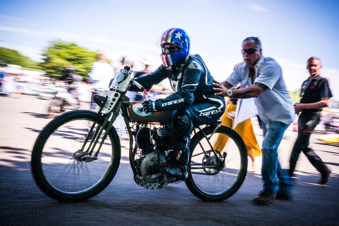 Harley-Davidson Goodwood Festival of Speed captured by Indira Flack Photography
