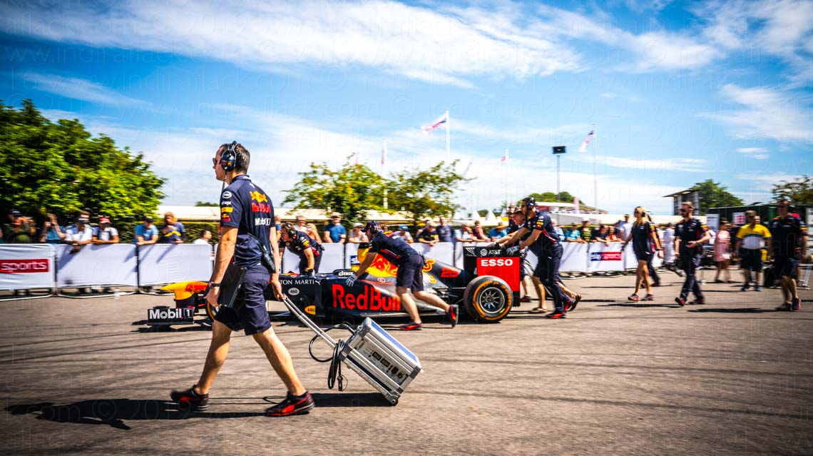 Red Bull Racing F1 at Festival of Speed Goodwood captured by Indira Flack Photography