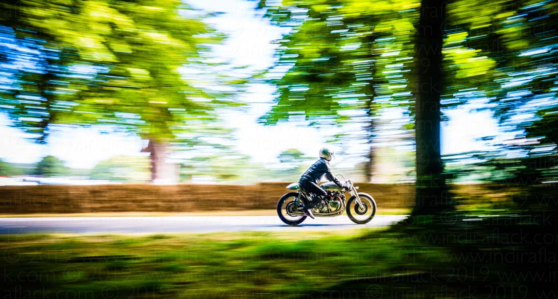 Goodwood Festival of Speed motorbikes taken by Indira Flack Photography