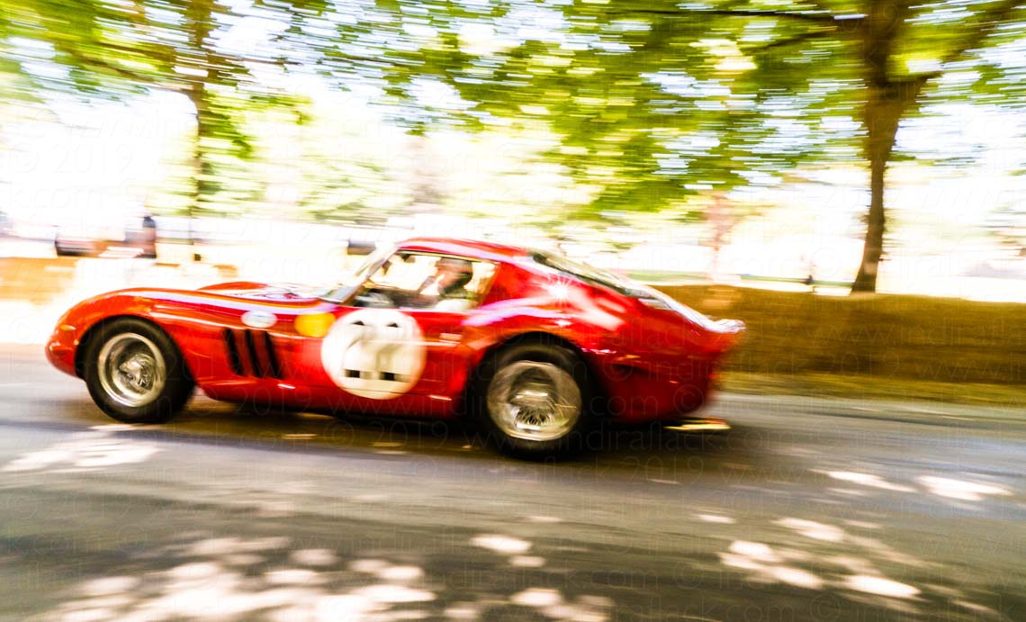 Ferrari 250 GTO taken by Indira Flack Photography at Goodwood Festival of Speed
